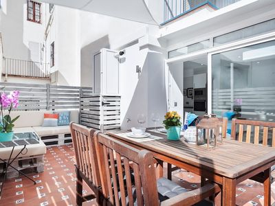 Photo for In the center of Sitges with Internet, Air conditioning, Terrace (647294)