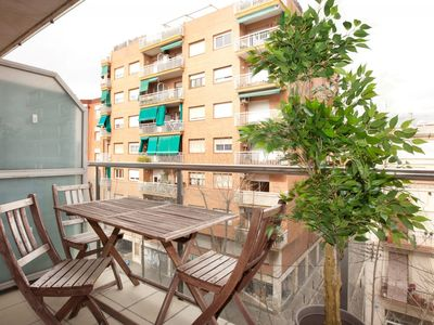 Photo for Marbella Platja VIII apartment in Poblenou with WiFi, integrated air conditioning (hot / cold), bal…