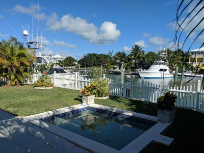 Photo for KEGOSA- GREAT ABACO CLUB- canalfront home with 55' of private dockage and a splash pool!