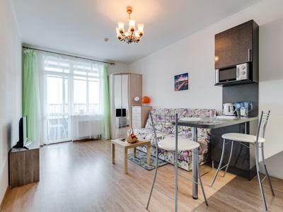 Photo for Studio apartment on Finnish bay shore