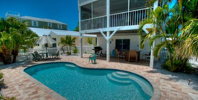 Canal Front Home - Heated Pool - Short Walk to Beaches!