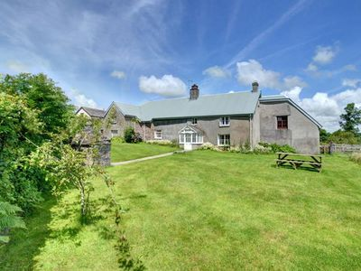 Photo for Former farmhouse holiday home with lovely interior, playground equipment and table football