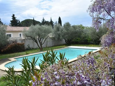 Photo for villa with pool at Pont du Gard for 6 people