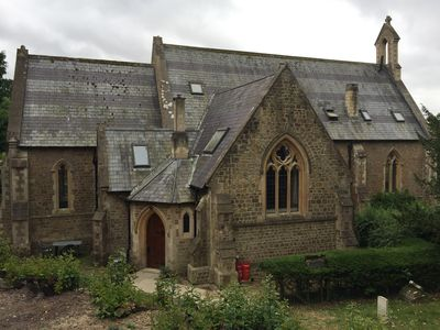 Photo for North Transept - self-contained annex to our converted Victorian Gothic church