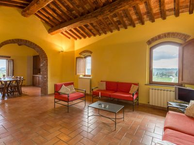 Photo for Apartment just 4 kilometers from Siena, in the heart of Chianti