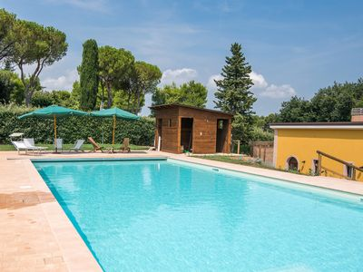Photo for POGGIO IMPERIALE MARCHE COUNTRY HOUSE-Apartment 1 suitable for the disabled