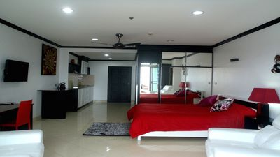 Photo for Furnished studio in seabord at Jomtien Pattaya