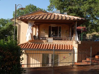 Photo for Cosy Holiday Home in Magione with Swimming Pool