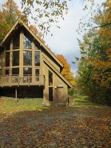 Chalet in Early Fall