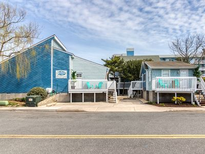 Photo for A pair of bay view cottages with cable & free WiFi - walk 2 blocks to the beach!