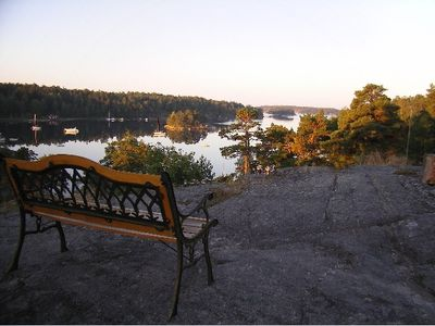View from the rock