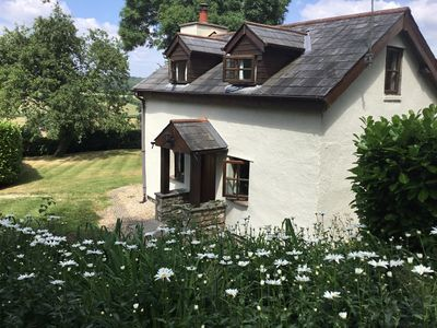 Photo for 18th century stone cottage in the beautiful Usk valley