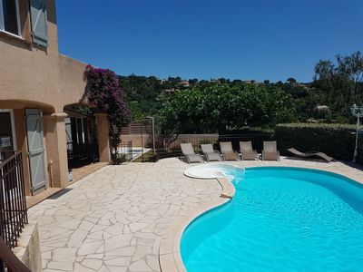 Photo for Villa CAVALAIRE 170 m² Swimming pool / CALM / Pool-House 9 pers. 5 bedrooms / 3 bathrooms
