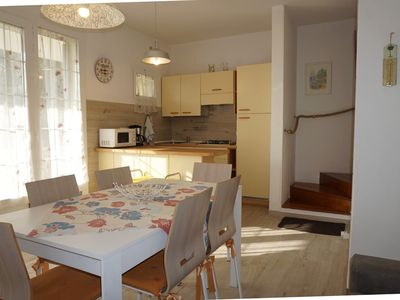 Photo for Holiday house village with swimming pool and tennis court