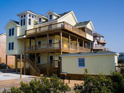 Photo for Endless Fun! Semi-Oceanfront w/ Elevator, Pool, Hot Tub, Cabana House, Game Room