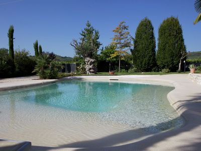 Photo for Sun-kissed holiday home close to Verona, with swimming pool, garden and Wi-Fi. Pets are welcome.