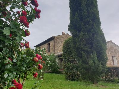 Photo for Tuscan barn with huge private garden
