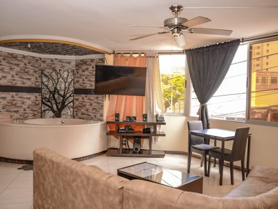 Photo for 2 Bedroom AC bedrooms, Hot Tub, 4 blocks to Lleras