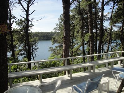 Photo for Quaint 2 Bedroom Cottage Overlooking White Pond