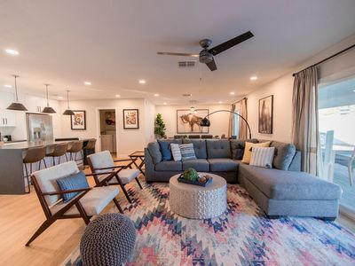 Photo for ❤ of Old Town | A+ Backyard | 2 Living Rooms | Smart Tv's | High Speed WIFI
