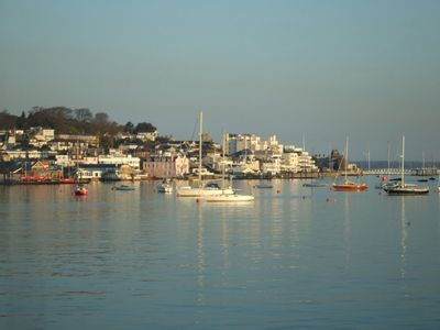 Photo for A seafront holiday home with panoramic views of Cowes Harbour and the Solent.