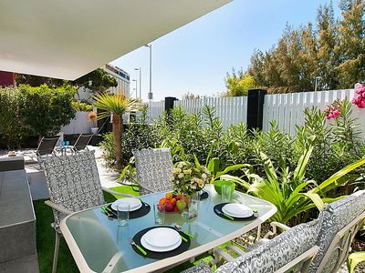 Photo for Vacation home ET2 Beach house w/private pool  in Maspalomas, Gran Canaria - 4 persons, 2 bedrooms