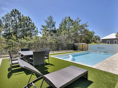 Photo for Book for Mother's Day! 30A Home w/ Private Pool & Putting Green!