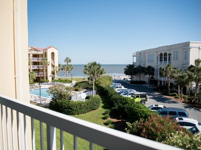 Photo for Beachfront Bargain!  King and Prince Oceanfront sleeps 6, 3 Br.3 Ba