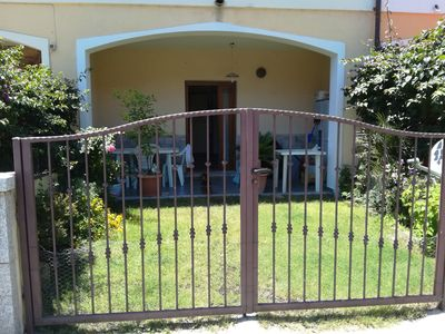 Photo for Ground floor house with two small gardens and covered veranda