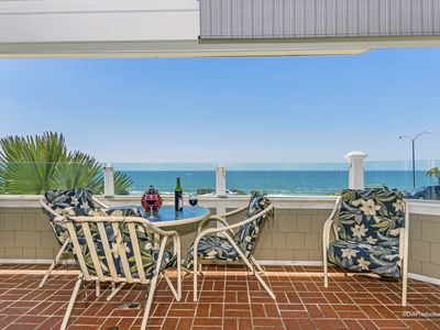 Photo for Oceanfront Carlsbad Village Condo -- Easy Beach Access