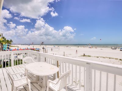 Photo for SunSwept- South -STUDIO 1 Bed/1 Bath SLEEPS-4 OCEAN FRONT SEPT 25% OFF!!!!!