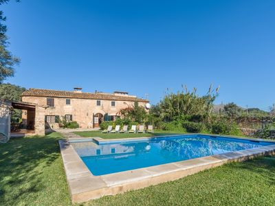 Photo for Finca Hortensia - Spacious and Charming Country House with all Commodities, Private Pool and Lovely Views ! - Free WiFi