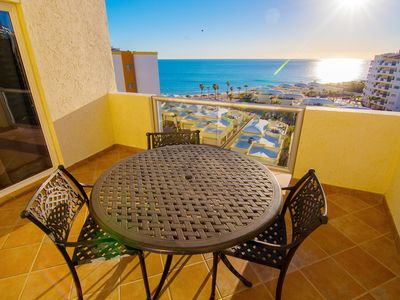 Photo for Beautiful 1 Bedroom Condo on the Sea of Cortez at Las Palmas Resort D-703B