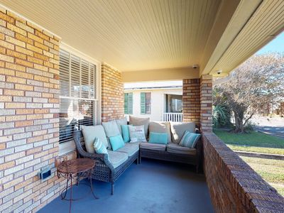 Photo for Contemporary and stylish dog-friendly home with a fenced yard and great location