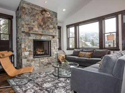 Photo for New Build!! Gorgeous Ski in/Ski out Mountain Townhome! Sleep 17 with hot tub!