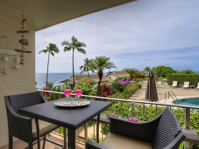 Photo for Beautiful 1 bdrm/1 bath ocean view condo in sunny Poipu