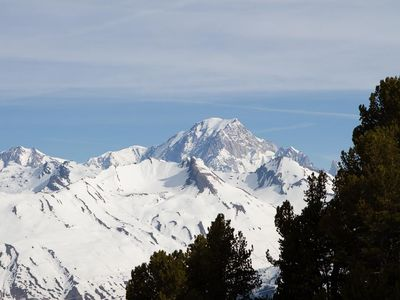 Photo for Arc 2000, 6/8 pers renovated ski and Mont Blanc view. WIRELESS.