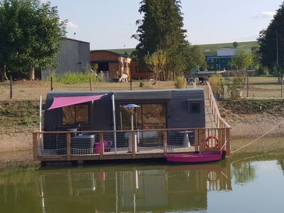 Photo for FLOATING CABIN WITH PRIVATE SPA LES PREUSES