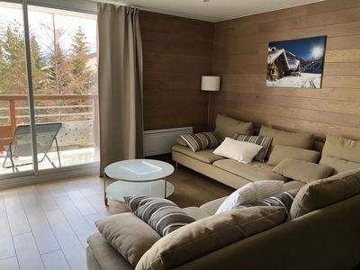 Photo for Apartment Les Deux Alpes, the slopes, 5 pers.
