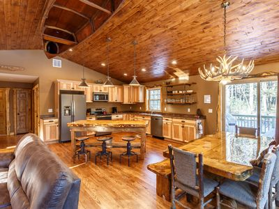 Photo for ***The Beautiful Whitetail Ridge-Luxury 5BR Cabin, Just minutes from downtown***