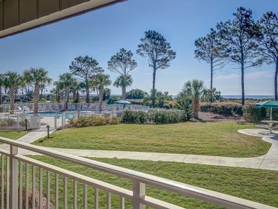 Photo for Direct Oceanfront Villa with beach side Heated Pool!