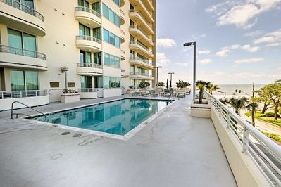 You'll have access to a variety of community amenities, like a heated pool!