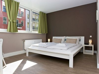 Photo for Easy C 1.1 apartment in Kreuzberg with WiFi, shared terrace & lift.