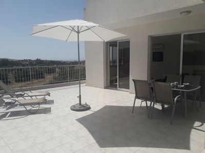 Photo for Beautiful Quiet and Sunny Penthouse well equipped with free WIFI & POOL
