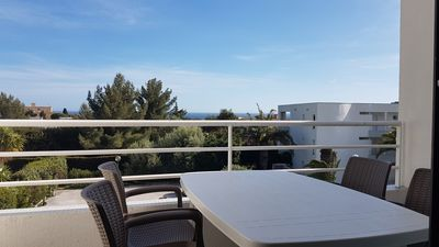 Photo for STUDIO Coin Nuit 31 m² - 4 Sleeps - Near Center and Beach. standing