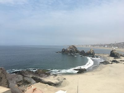 Photo for Beautiful new 3-bedroom apartment in Punta Negra, Peru, with pool and ocean view