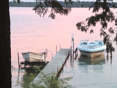 Photo for Spacious, waterfront cottage in Traverse City. Pet friendly, fireplace