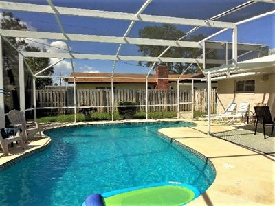Photo for Pool home in a serene neighborhood!!!