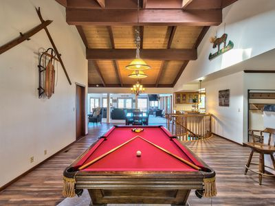 Photo for Lakefront Living | Family Fun | Pool Table | Hot Tub | Close to Ski Slopes