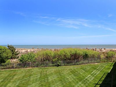 Photo for 1FA: 2BR Sea Colony Oceanfront condo | Private Beach, Pools, Tennis!